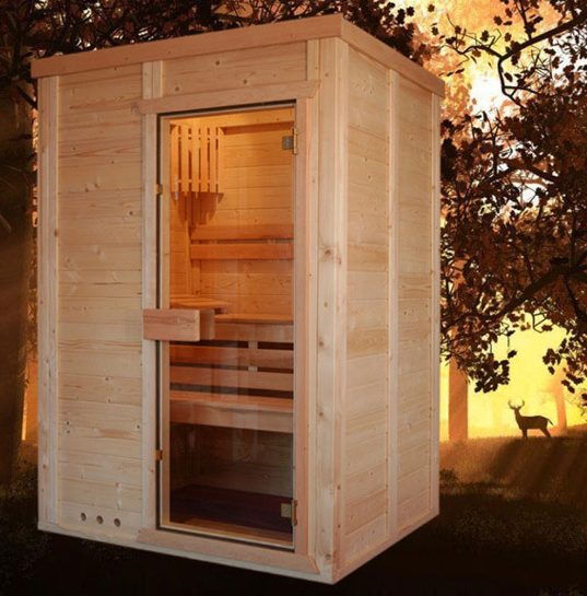 smart sauna. Black Bedroom Furniture Sets. Home Design Ideas